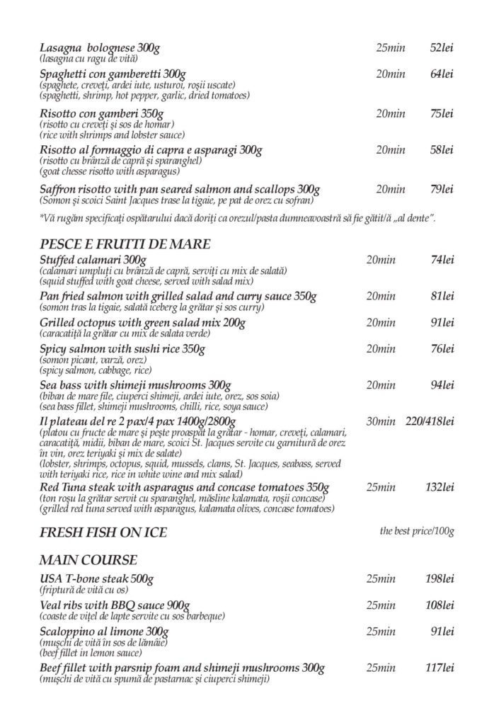 Food Delivery Menu - Page 3