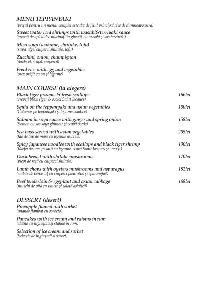 Food Delivery Menu - Page 6